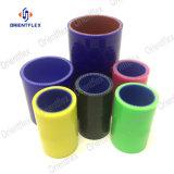 Reforzado de la junta universal recta el acoplador de tubo flexible de caucho de silicona