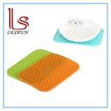 Patins en caoutchouc de silicone Hot Pot titulaire Trivet Mat résistantes à la chaleur des ustensiles de cuisine Tapis de cuisson en silicone