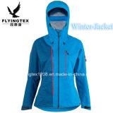方法ジャケット新式の防水防風の3つの層の女性雨