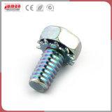 Insertar el tornillo de metal personalizados Nutcopper herrajes para construcción