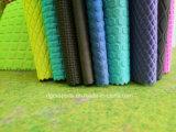 Esponja impermeável de tecido de cor em relevo de neopreno com fios
