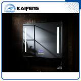 Lo specchio astuto moderno della stanza da bagno, Bluetooth, LED, annebbia liberamente, alluminio incorniciato (SM-002)