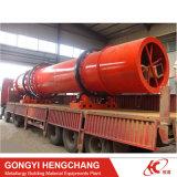 Secador de tambor rotativo de partículas de biomassa