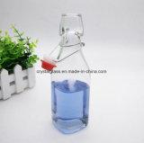 Kundenspezifische Firmenzeichen-Haken-Glasflaschen-Wein Botttle Getränkeflasche