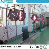 P8mm Logo cercle étanche signe Affichage LED de plein air pour publicité de fabrication