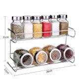 Bottiglia di vetro dell'agitatore per l'articolo da cucina di memoria del sale del pepe