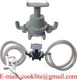 Trasferimento che riempie il kit della pompa del pedale del piede del combustibile diesel della benzina della benzina & ugello manuale con i tubi flessibili