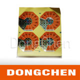 印刷された熱い押すホログラムのペーパーラベルのステッカー