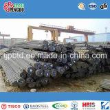 Barra de aço deformada de reforço laminado a quente