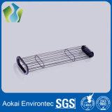 Gabbia industriale del sacchetto filtro della polvere del sistema del collettore di polveri (acciaio al carbonio)
