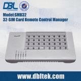 Server di Port Remote SIMwith Free SIM della Banca 32 di SIM (SMB32) For GoIP