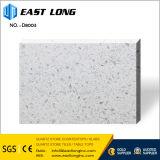 ホテルの浴室の水晶台所上のための白い結晶粒の水晶石の平板