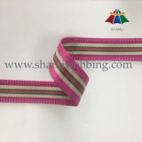 Best Selling 38mm Striped tecido Jacquard Nylon poliéster