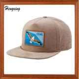 プリントピークの背部Bordure 3Dの刺繍の急な回復の帽子
