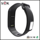 Pulsera elegante del M2 del reloj elegante de Bluetooth 4.0 del podómetro del monitor del ritmo cardíaco de la presión arterial