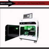 2017 печатная машина лазера высокого качества 2D 3D кристаллический внутренняя