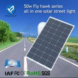 A luz de rua 2016 50W psta solar a mais popular