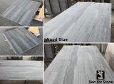 Mármol de madera azul de China de los nuevos materiales y mármol azul de Serpeggiante