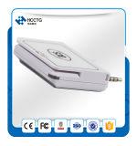 Mini leitor de cartão móvel inteligente com raia magnética ISO 7816 Mobile POS ACR32