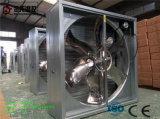 Formato 1100*1100*400 millimetro di potere 750W del ventilatore di Exaust della serra