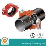 Accoppiamenti Grooved del ferro duttile rigido per il tubo
