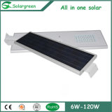 Solar Street Light -Lighting com 3-5 dias de backup
