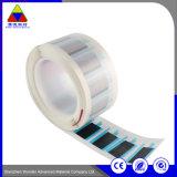 Kratzer weg von Papierkennsatz-Kleber gedrucktem Aufkleber für schützenden Film