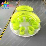 Prix usine de flottement gonflable de vente chaud de flotteur de présidence de PVC d'air de plage de jouet