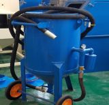 Sand Blast Pot com controles pneumáticos