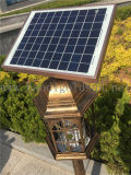 LEDのカのZapper電子機能- Zapperおよびランタン1つのライトに付き2つの太陽動力を与えられた庭ランプ