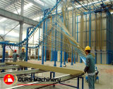 Надземное Chain Conveyor Powder Coating Line для Aluminum Profile