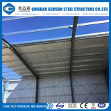 Construction préfabriquée de cloche de modèle d'entrepôt industriel de structure métallique dans l'usine