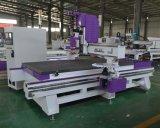 Atc máquina rebajadora CNC para madera de madera de plástico de MDF