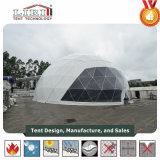 Abdeckung-Festzelt-Zelt Durchmesser-30m transparent mit Motor