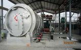 Neumático especial del diseño que recicla el tiempo de la maquinaria 12tpd de la pirolisis - ahorro
