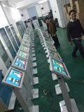 Pubblicità del pavimento della visualizzazione dell'affissione a cristalli liquidi che si leva in piedi il chiosco dello schermo di tocco di 22 pollici