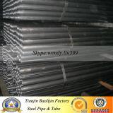 Nahtloser schwarzer Kohlenstoff-ovales Stahlrohr