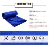 Tela incatramata tessuta PVC impermeabile di prezzi di fabbrica per il coperchio del rimorchio