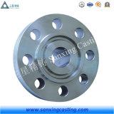 ステンレス鋼のフランジの部品を機械で造るカスタム精密