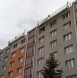 Mast-kletternde Arbeitsbühne-hängende Plattform (ZLP300)