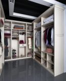 Cartagena U Style Cloakroom White Wood PVC Bedroom Wardrobe (CA01-04)