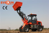 Euroiii Engine를 가진 Qingdao Everun 1.5 Ton 세륨 Approved Mini Radlader 중국 Wheel Loader