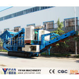 최신 Selling 및 High Performance Tracked Mobile Crusher
