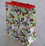 A qualidade personaliza o saco relativo à promoção do presente do saco de papel de arte da impressão do Natal
