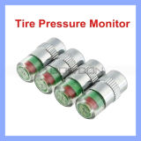 2.4 Bar Car Monitor Valve Sensor Tire Pressure Indicator Gauge Cap Alert 4 pneus (TIRE-01)
