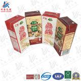 Caixa de tijolos assépticos para leite e suco