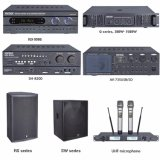 350/500 Professionele Versterker van de Karaoke van de Echo van de Macht van de Klasse H van Watts Digitale