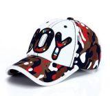 Gorra de béisbol de encargo de Embroideried de la insignia del muchacho, casquillo del deporte, casquillo del ocio en varia talla, material y diseño