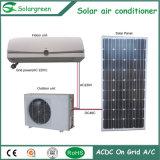 격자에 태양 에어 컨디셔너. AC/DC는 힘 이중으로 한다