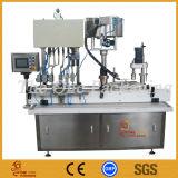 Máquina de relleno y que capsula del líquido de las pistas de los cosméticos 4